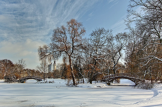 Brücken im Johannapark