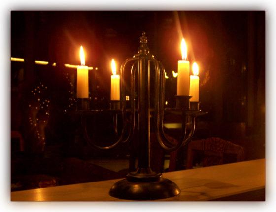 Vier Kerzen