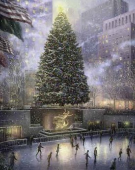 Rockefeller Center Christmas Tree - T. Kinkade